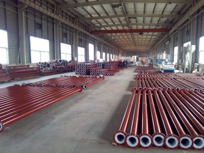 衬塑管生产厂家山东衬塑变径管